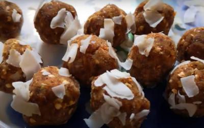 DIETA IMUPRO. Bomboane din migdale, curmale și hrișcă, fără gluten. VIDEO