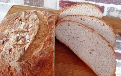 DIETA IMUPRO. Pâine fără gluten cu maia (fără drojdie)